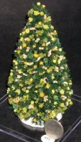 Christmas Tree, Dried Floral 1