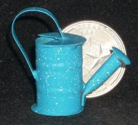 Blue Speckled Watering Can #TS1232(1)