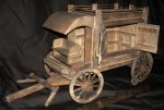 Peddler's Wagon 1:12 Miniature Mexican Western Tinker #7411