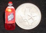 Big Red Soda 1:12 Miniature Beverage Pop Cola Texas Drink