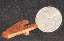 Boot Jack #WA1401 1:12 Dollhouse Miniature Cowboy Mexican