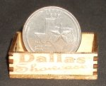 Dallas Showcase Crate 1:12 Miniature Market Store Farm Short