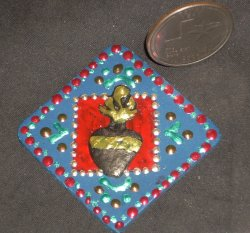 Milagro Heart Corazon Wall Mount Miracle 1:12 Miniature #7336