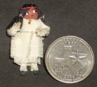 Doll - Doll's Doll Toy - Native American Indian 1:12 1:24? #1937