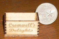 Cromwell's Delights Crate 1:12 Miniature Produce Farm Market