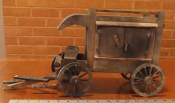Peddler's Wagon 1:12 Miniature Mexican Western Tinker #8741