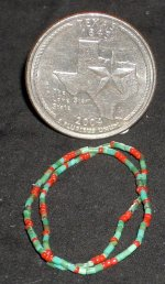 Necklaces Turquoise Heishi Victorian Coral Jewelry 1:12 #9381