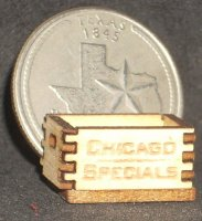 Chicago Specials Crate 1:24 / 1:12 Produce Market 1:12 Miniature