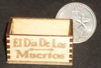 El Dia de los Muertos Produce Decorations Candy Crate 1:12 Mini