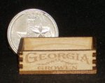 Georgia Grown Produce Crate 1:12 Miniature Farm Market Store