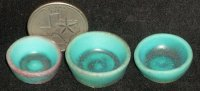 Alex Meiklejohn 1 Wood Fired Turquoise Bowl #1209
