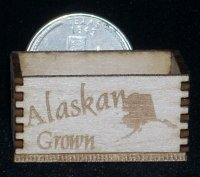 Alaskan Crate 1:12 Dollhouse Miniature Produce Grocery Market