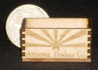 Arizona Produce Crate 1:12 Dollhouse Miniature Food Grocery