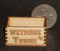 Wetmore Texas Produce Crate 1:12 Miniature Farm Market Grocery