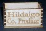 Hildago Co. Produce 1:12 Miniature Texas Farm Grocery