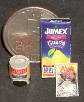 Texas Pantry #01 1:12 Dollhouse Miniature Kitchen Food Meal