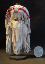 Native American Princess Dance Dress 1:12 Miniature #3394