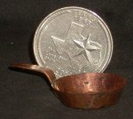 Copper - Frying Pan Small 1:12 Miniature #MC704-1