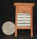 Washboard #WA1442 1:12 Dollhouse Miniature Laundry Wash Clothes