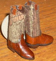 Boots Cowgirl Rodeo / Dance #C24 1:12 Miniature Western Clothing