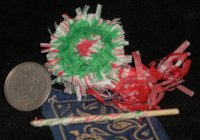 Christmas Pinata Polo & Bandana #0002 Wreath
