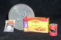 Texas Pantry #06 1:12 Dollhouse Miniature Kitchen Food Meal