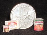 Texas Pantry #04 1:12 Dollhouse Miniature Kitchen Food Meal