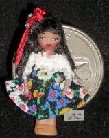 Doll - Doll's Doll Toy - Wee Mexico #953 1:12 Miniature