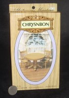 Chrysnbon Round Table w/2 Chairs Kit F-270 Kitchen Dining Set