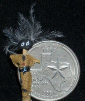 VooDoo Doll #V0020 1:12 Dollhouse Miniature New Orleans LA