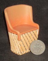 Equipale Chair #YM0820 Resin 1:12 Miniature Furniture Southwest