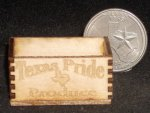 Texas Pride Produce Crate 1:12 Miniature Farm Market Store Wood