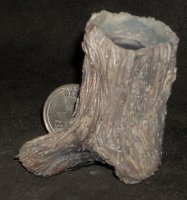 #1423 Tree Style Plant Holder 1:12 Miniature Trabajo Rustico