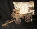 Covered Conestoga Wagon 1:12 Miniature Mexican Western #2446
