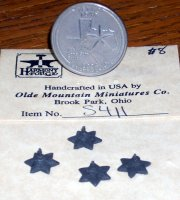 Building Star Small #S411 Antique Tin Finish Miniature