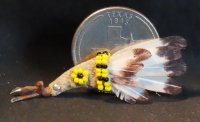 Bird Wing Ceremonial Fan #8546 1:12 Native American Miniature