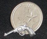 Gun #MP857 1:12 Miniature Mexican Pistol New Pour Antique Mold