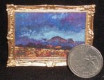 Dead Horse Mountains 1:12 Miniature Ltd. ed. Texas Landscape