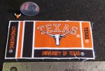 University of Texas UT Fabric & Longhorn Skull 1:12 Mini 1796