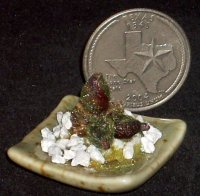 Cactus #9079, Artisan Pot 1:12 Dollhouse Miniature Flower Patio