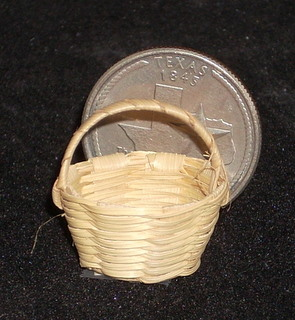 Basket Woven #B105 1:12 Miniature Mexican Import